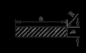 Полоса   Шина   Пластина алюминий, Анод, 8х2 мм