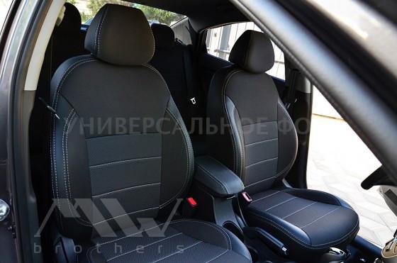 Ford Fiesta Mk6 (2002-2009), серая нить