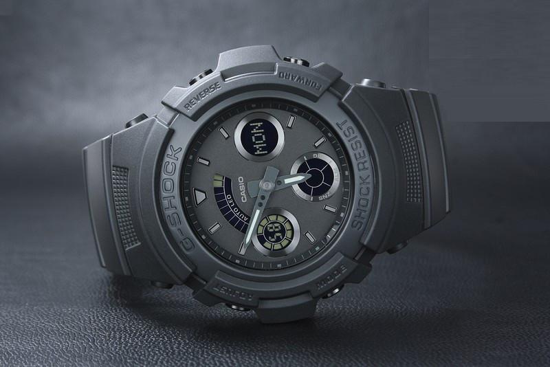 buy popular 5492a c3048 Часы Casio G-Shock AW-591BB-1A - Bigl.ua