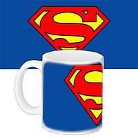 Кружка с принтом Супермен (33395)