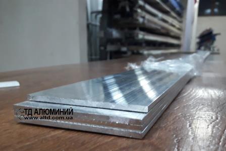 Алюмінієва смуга   Шина, Без покриття, 60х3 мм