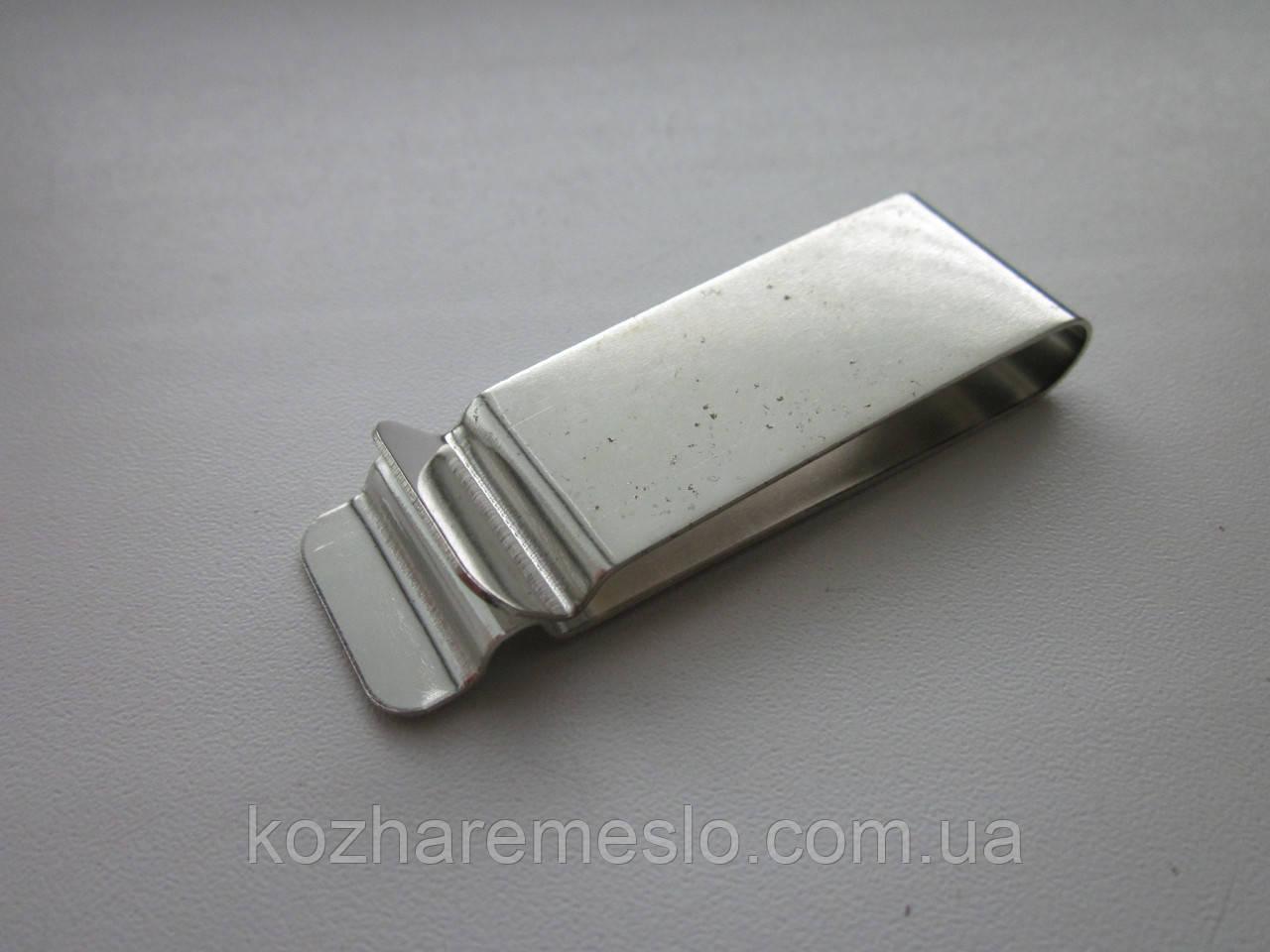 Скоба кобурная 70 х 22 мм никель