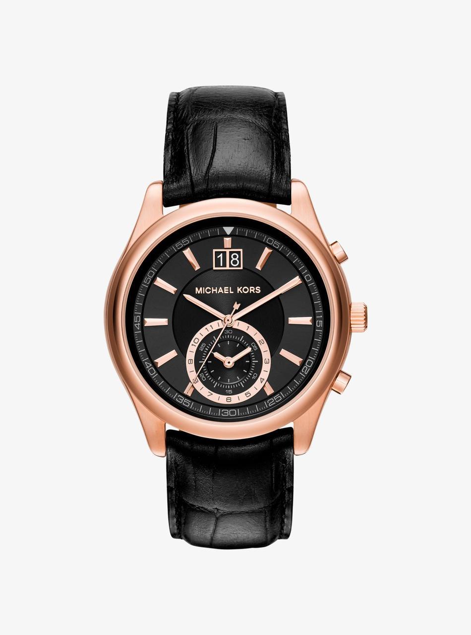 Часы Michael Kors Aiden Rose Gold-tone Chronograph MK8460