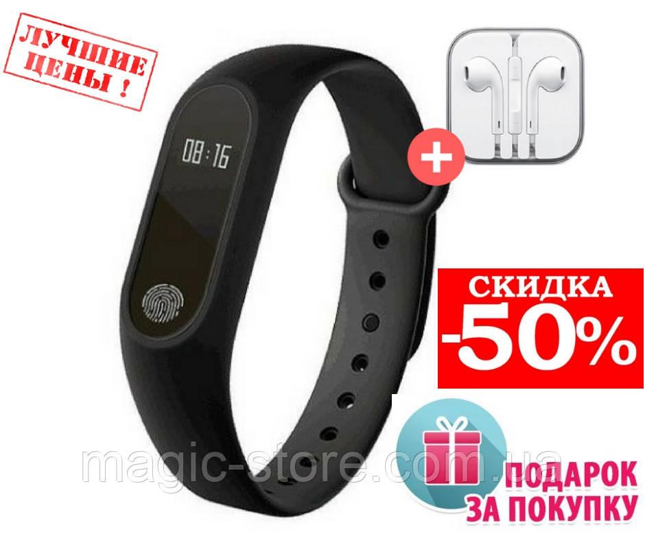 Фитнес Трекер , фитнес браслет Xiaomi Mi Band 2, сертифицированный Аналог