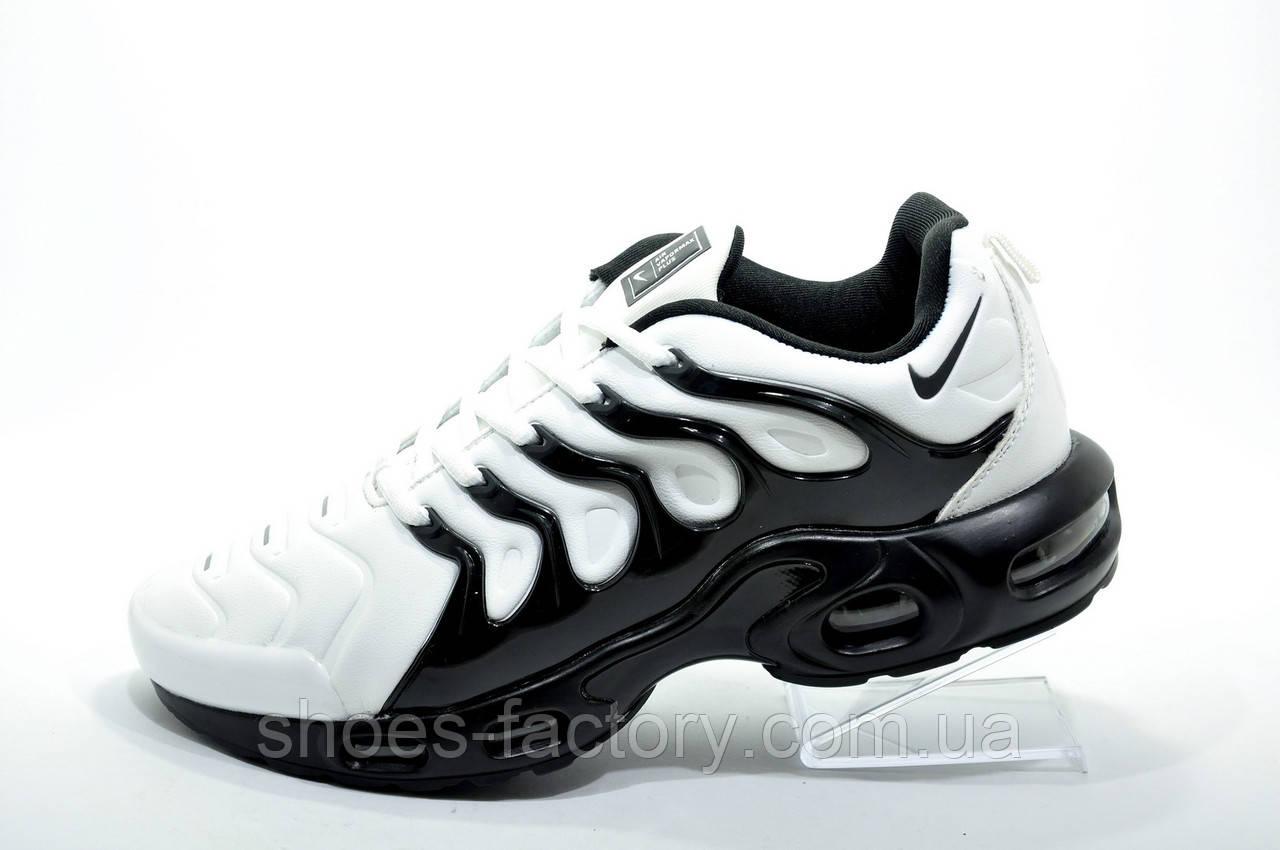 Мужские кроссовки в стиле Nike Vapormax Plus 2018, White\Black