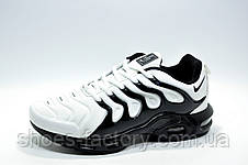 Мужские кроссовки в стиле Nike Vapormax Plus 2018, White\Black, фото 2