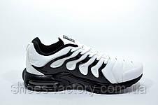 Мужские кроссовки в стиле Nike Vapormax Plus 2018, White\Black, фото 3