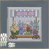 Набор для вышивки Mill Hill Flower Cart (2005)