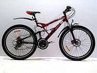 Велосипед горный AZIMUT ROCK G-FR-D к24, к26