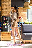 Женская замшевая юбка с поясом (5 цветов), фото 5