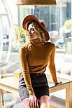 Женская замшевая юбка с поясом (5 цветов), фото 6