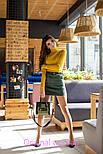 Женская замшевая юбка с поясом (5 цветов), фото 9