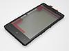 Nokia Lumia 820 Сенсорный экран с рамкой черный