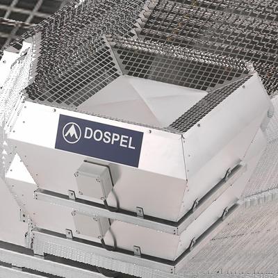 Вентилятор WDDкрышный центробежный  DOSPEL