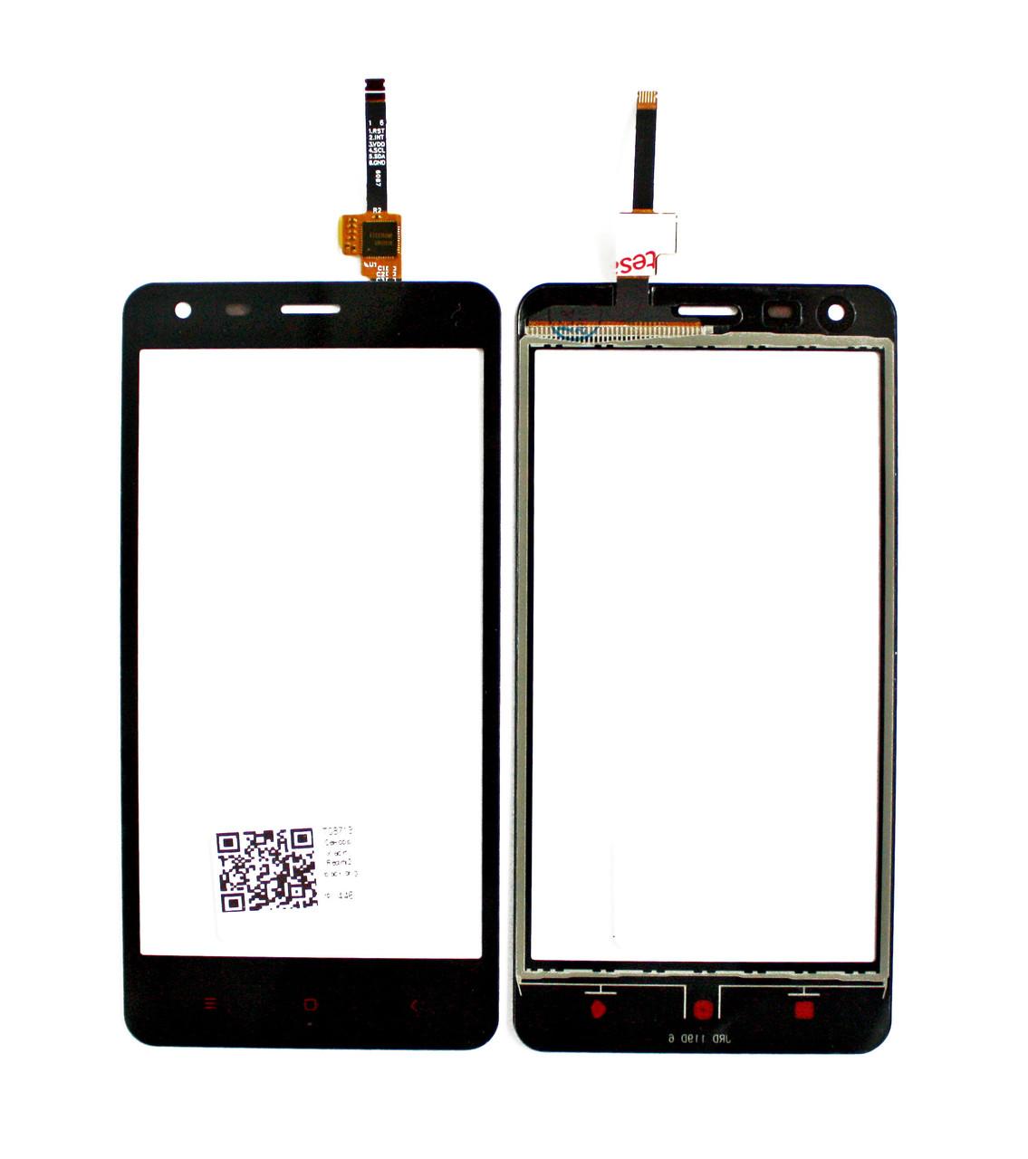 Сенсорный экран (тачскрин) Xiaomi Redmi 2 чёрный ориг. к-во