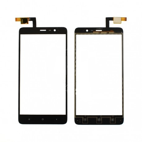 Сенсорный экран (тачскрин) Xiaomi Redmi Note 3 | Redmi Note 3 Pro чёрный ориг. к-во