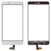 Сенсорный экран (тачскрин) Xiaomi Redmi Note 4, белый ориг. к-во
