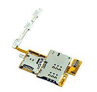 SIM-коннектор Huawei MediaPad 10 Link 3G (S10-201u) со шлейфом, разъёмом карты памяти и кнопками .s