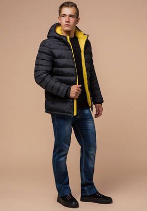Braggart Aggressive 25490 | Куртка мужская зимняя графит, фото 2