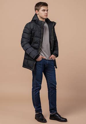 Braggart Aggressive 13542 | Зимняя мужская куртка теплая графит, фото 2