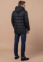 Braggart Aggressive 13542 | Зимняя мужская куртка теплая графит, фото 3