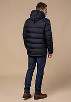 Braggart Aggressive 10168 | Зимняя куртка с капюшоном т.синий-белый, фото 3