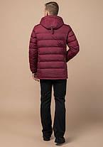 Braggart Aggressive 11726 | Мужская куртка бордовая, фото 3