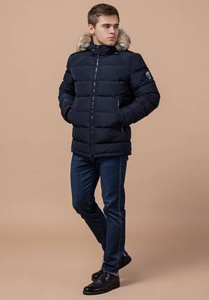 Braggart Aggressive 18540   Мужская зимняя куртка темно-синяя, фото 2