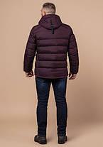 Braggart Aggressive 32540 | Мужская зимняя куртка темно-бордовая, фото 3