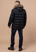 Braggart Aggressive 21226 | Куртка мужская на кнопках черная, фото 3