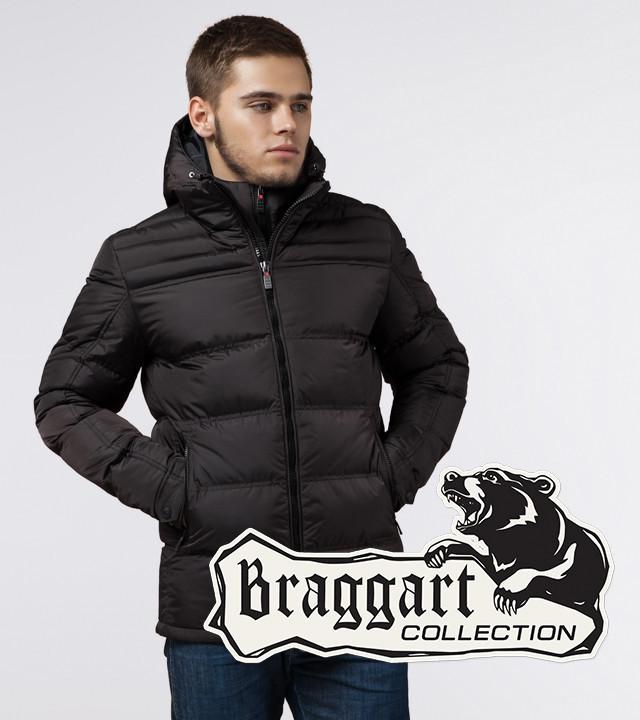 Braggart Aggressive 26055   Куртка мужская зимняя кофе