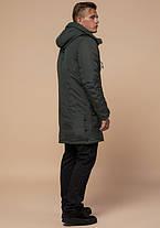 Braggart Arctic 96120 | Зимняя парка для мужчин хаки, фото 3