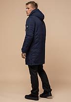 Braggart Arctic 96120   Парка зимняя с капюшоном синяя, фото 3