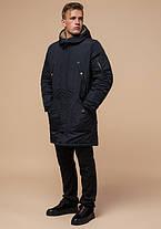 Braggart Arctic 90520 | Мужская парка на зиму черно-синяя, фото 2
