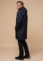 Braggart Arctic 90520 | Мужская парка на зиму черно-синяя, фото 3