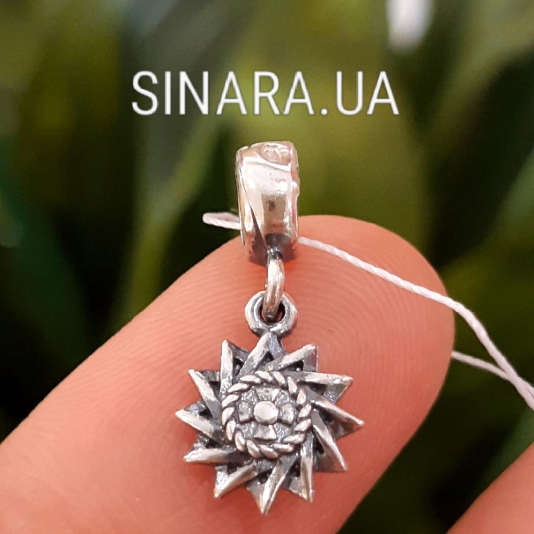 Серебряный Шарм Пандора Pandora Звезда Эрцгамма