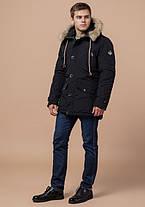 Braggart Arctic 38950 | Мужская парка на зиму черная, фото 2