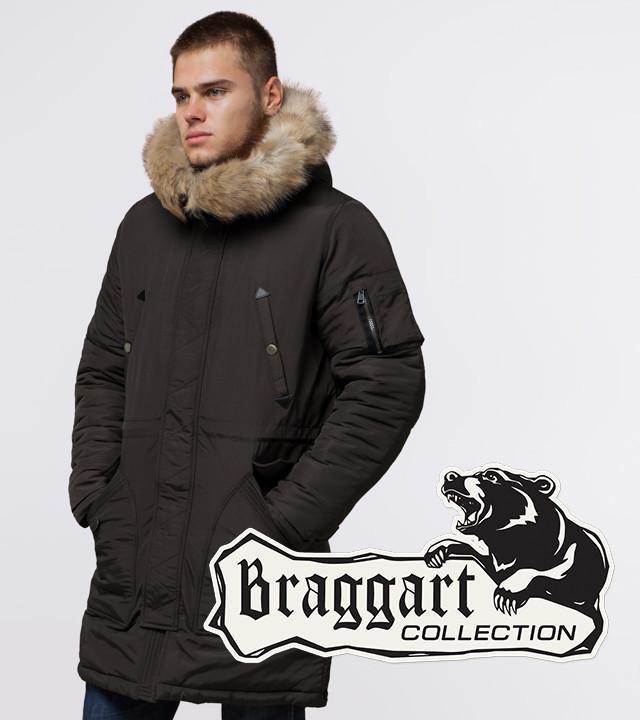 Braggart Arctic 91127 | Парка мужская зимняя коричневая