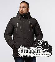 Braggart Arctic 43015 | Зимняя мужская парка коричневая
