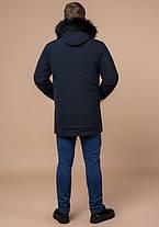 Braggart Black Diamond 9985   Мужская зимняя куртка темно-синяя, фото 3