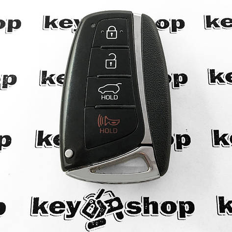 Оригинальный cмарт ключ для HYUNDAI (Хундай) 3 + 1 кнопки, чип id46 (PCF 7952) 315 MHZ, фото 2