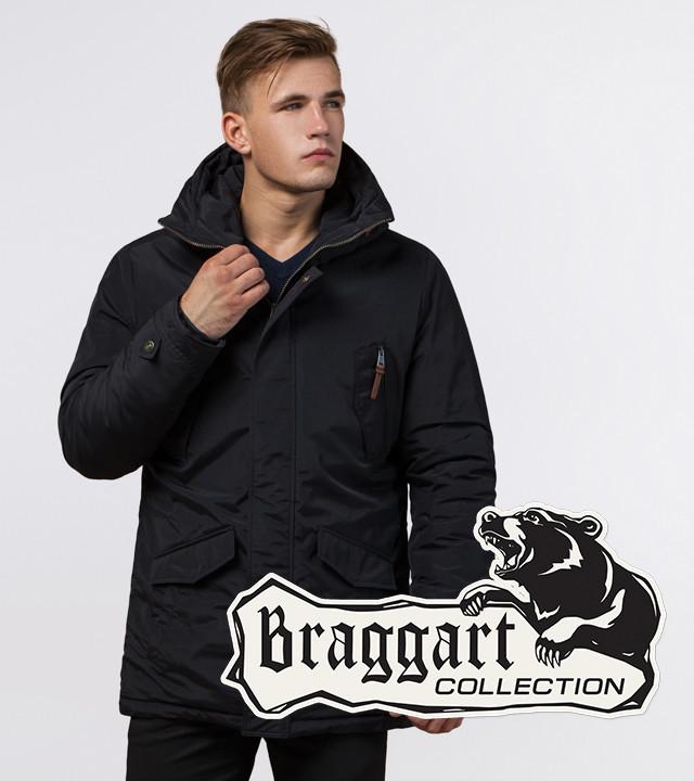 Braggart Arctic 47450 | Парка для мужчин зимняя черная