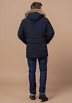 Braggart Arctic 37560 | Мужская парка на зиму синяя, фото 3