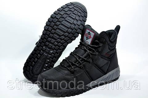 Зимние мужские сапоги в стиле Columbia Fairbanks Omni-Heat, Чёрные ... 9023a37201f