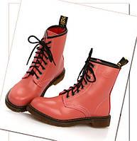 5263fa995961 Ботинки женские копия Dr. Martens на платформе демисезон черные ...