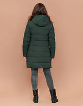 Braggart Simply 25435   Утепленная женская куртка хаки, фото 3