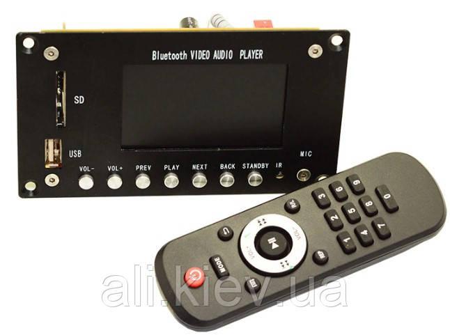 "Bluetooth 4.1 Видео Аудио плеер декодер USB SD кард-ридер дисплей 3"" WAV,MP3,FLAC,APE Touch Screen + Remote"