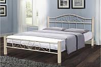 Кровать с металлическим изголовьем Релакс