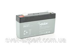 Акумулятор MERLION AGM GP613F1 6 V 1,3 Ah ( 95 x 25 x 50 (55) ) Q40