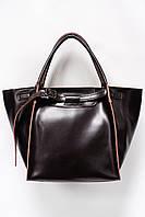 Женская кожаная сумка Galanty 10655 Coffee.